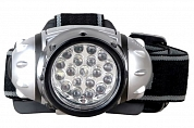 Ultraflash LED5353 (фонарь налобн металлик, 19LED, 4 реж, 3XR03,  пласт, коробка)